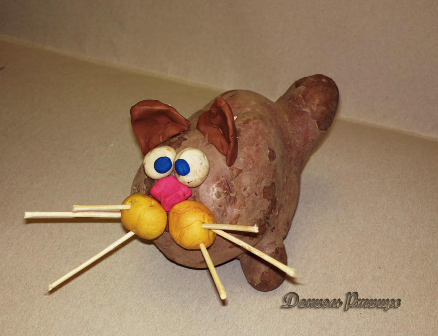 Как из картошки сделать фигурки из